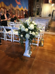 $148 - ceremony flowers on rental column