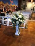 $148 - ceremony flowers on rental column
