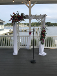 $168 - incl draping, venue's arch