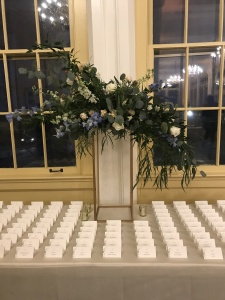 $174 - Escort Card Table incl stand rental