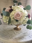 $58 - reception table centerpiece
